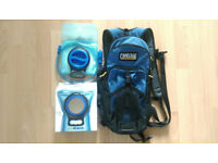 Camelbak blowfish back pack with new water bladder