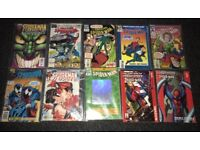 Comic book bundle including US comics