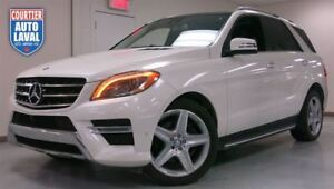 2014 Mercedes-Benz M-Class ML350 BT 4MATIC  PREM PKG - SPORT PKG