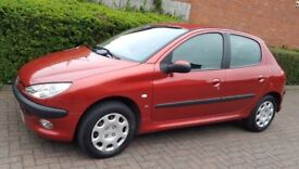 *PEUGEOT 206 * 1.6L * 55 REG * MOT TIL DECEMBER 2018 * 2 KEEPERS* EXCELLENT CONDITION ** £750 **