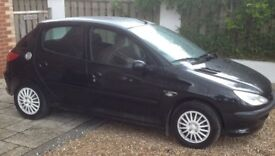 Peugeot 206 for Spares and Repairs (still drives)