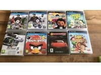PS3 games ages 3+ 8 games in total