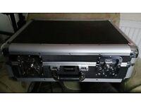 CD Flight Case Storage Box DJ Music Band Karaoke