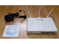 DrayTek Vigor 2820n Router Firewall - ADSL2+ VoIP, ISDN SO, WIRELESS, PBX