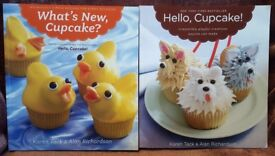 Two Cake Decorating Books - Hello, Cupcake! & What's New, Cupcake?
