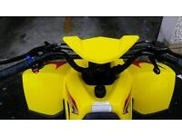 Yellow quad bike excellent condition ideal gift.