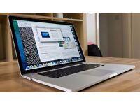 Apple MacBook Pro 2014 retina and 256gb SSD
