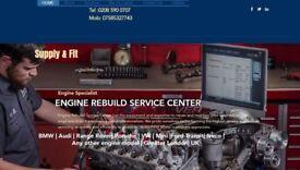 VW TRANSPORTER 2.5 TDI ENGINE recon