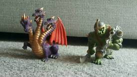 Dragon and Troll Toys