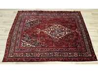 Red Ground Hamadan Rug (DELIVERY AVAILABLE)
