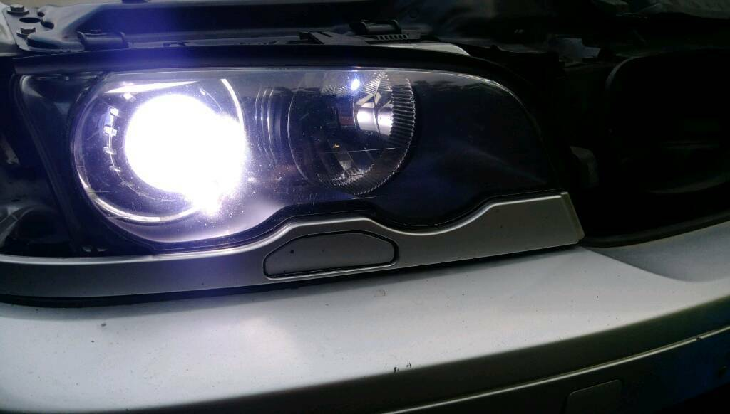 Genuine Bmw E46 Projector headlights