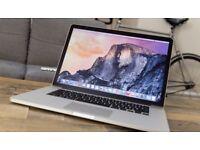 Apple MacBook Pro RETINA 15' 2Ghz i7 Quad Core 8Gb Ram 256GB SSD Logic Pro X Omnisphere 2 iZoTope