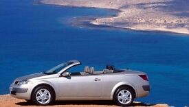 Renault Megane 1.5 convertible 50 mpg perfect for summer time the car in perfect order