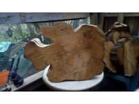 Dog shaped art piece -beautiful & adorable