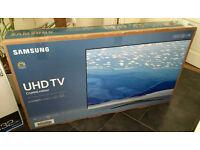 "ULTRA THIN- 43"" SAMSUNG Smart 4k UHD HDR -1500hz- LED TV -FREEVIEW/SAT HD -WARRANTY"