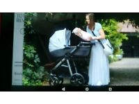 Mini uno pram 3 in 1 travel system grey, sealed and boxed