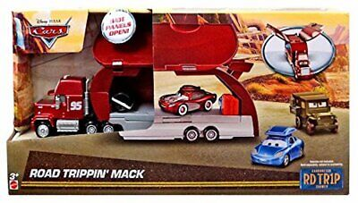 Disney Pixar Cars Road Trip Trippin' Mack Truck Hauler Trailer Playset