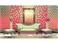 Wedding stage, Mehndi Stage, Catering, Chair Covers, Party decoration, Wedding Flowers