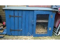 rabbit ,guinea pig hutch