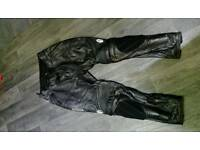 Richa leather motorbike pants