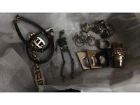 Bundle of jewellery/ includes Halloween Jewellery + free box, approx 50 items