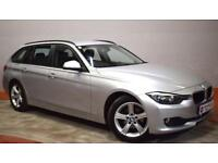 BMW 3 SERIES 2.0 318D SE TOURING 140BHP 1 Owner - £199 Dep £199 Per Month (silver) 2014