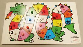Dragon Teaching Numbers Board. Agenta Marketing