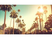 London to Los Angeles - Direct Flight Tickets x 4