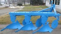 Used Plow - 3 Furrow Ford