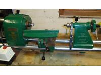 Coronet No3 Lathe good not rusty and complete