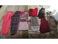 Medium Bundle of girls clothes aged 10-11 years