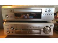 DENON DRA-F101 DCD-F101 HIFI STEREO CD AMPLIFIER RADIO REMOTE