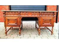 Incredible Moroccan style desk from the 1950's-1960's for sale in excellent used condition!