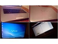 famous brand Sony Vaio laptop, Windows 10, Microsoft Office, Antivirus, cleaned, restored, was £599