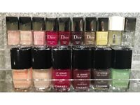 Genuine Chanel & Dior Nail Polish Varnish