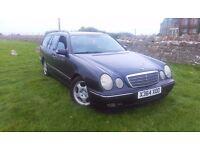 2001 Mercedes E320 CDI Avantgarde Estate Auto - 132k - 7 Months MOT