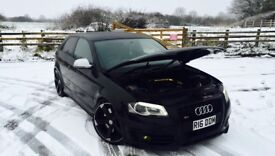 """Audi S3 facelift stage 2 330bhp milltek forge - coilovers - 19"""" wheels - two tone leather - Big spec"""