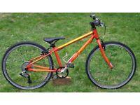 Islabike Beinn 24 red. Age 7+. Can courier. Isla bike