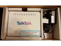 D link broadband wireless N router DSL 2680 Talktalk, very good condition