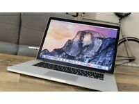 "MacBook Pro 15"" i7 16GB RAM 256GB SSD mid 2015 - ForceTouch Trackpad"