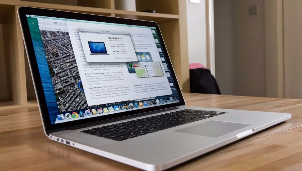 """Macbook Pro Retina 2015 15i716GB512 GBFinal cutLogic ProAdobeMuch morein Westminster, LondonGumtree - Macbook Pro Retina 15"""" 2015 in mint condition i7 processor 2.7GHz 16GB Ram 512GB SSD CHECKMEND AND POLICE REPORT PROVIDED OS El Capitan the latest one . Completely Installed with the following software (NEW) Logic Pro X 10.2.1 (NEW) Traktor Scratch..."""