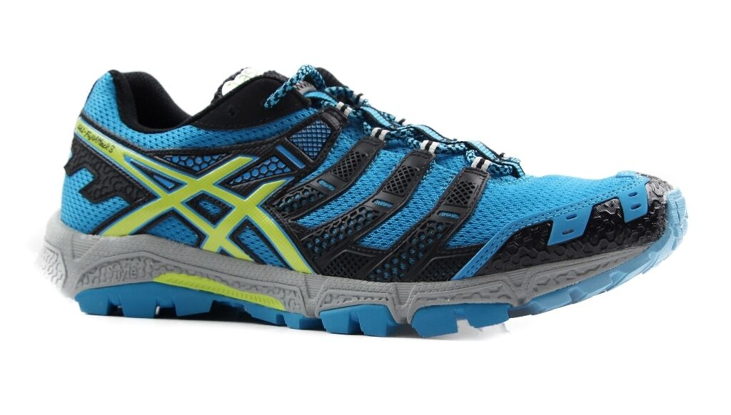 ff78e3133f Details about MENS ASICS GEL FUJI ATTACK 3 RUNNING TRAINING GYM SPORT  RUNNERS SPORTS SHOES