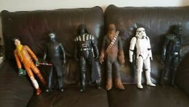 Star wars 30cm Figures/toys *prices in description*