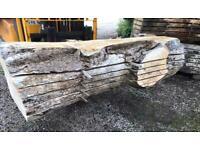 Scottish hardwood slabs for sale live waney edge garden furniture diy river resin table desk