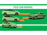 PCO**CAR**HIRE***PCO**CAR**RENTALS****UBER**READY**PCO**DRIVER**WANT**REDUCED**PRICE**