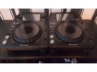 2 X Pioneer xdj-1000 Immaculate condition Rekordbox Ready