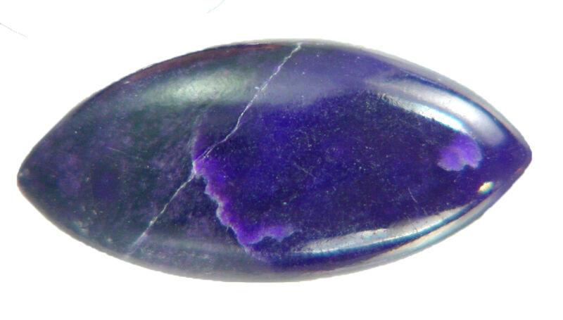 BUTW Genuine African Sugilite 13.8 ct Marquis Cabochon Lapidary Gemstone 0001P