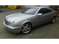 Mercedes CLK 230 Kompressor Manual 230hp (Rare, Uprated Supercharger Pulley, Boost, Track, Drift)