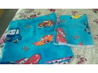 Bed cover and duvet cover Cars for cot beds