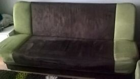 Sofa bed double 195cm/120cm sofabed ideal for living room or bedroom seat 4 - 5 2 xpeople sleep